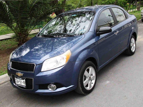 Chevrolet Aveo Ltz 2012 Color Azul