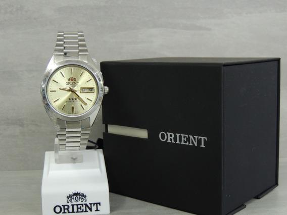 Relógio Masculino Orient Automático 469wa3 C1sx