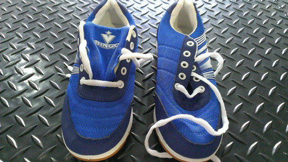 Zapatos Bingo 37 Azules Nuevos