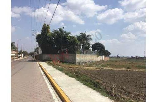 Renta De Terreno En Zerezotla A 3 Min Del Club De Golf La Huerta
