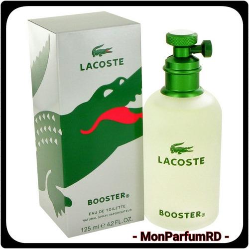 Imagen 1 de 4 de Perfume Lacoste Booster 125 Ml. Entrega Inmediata