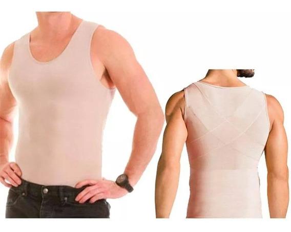 Colete Modelador Masculino Slim Postural Reduz Abdômen