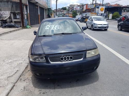 Sucata Audi A3 1.8 Aspirado Autmático 2003 (somente Peças)