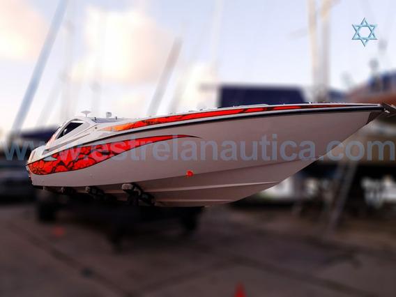 Lancha Excalibur 39 Barco Iate N Azimut Ferretti Cimitarra