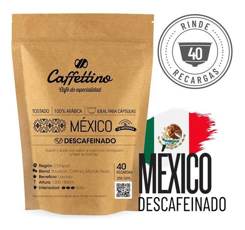 Imagen 1 de 9 de ¼ Café De Especialidad México Descaf. P/dolce (40 Usos)
