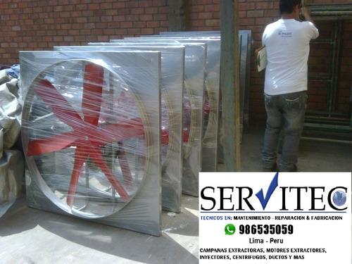 Ventilador Industrial Inyector Centrifugo Inyector Axial