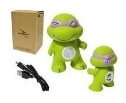 Caixa De Som Bluetooth - Tartarugas Ninjas Bh-1022