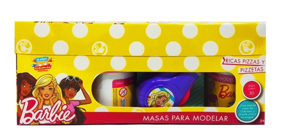 Masa Moldear Pizza Barbie Original Herramienta Multiuso