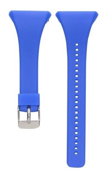 Pulseira Polar Ft4 E Ft7 Azul Top Top Envio Imediato