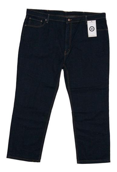 Talla Extra 50 X 32 Pantalon Mezclilla Relaxed Fit Plus Size