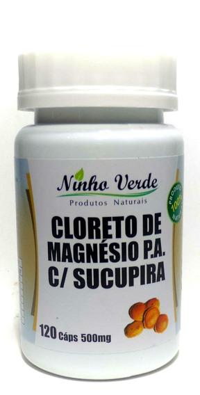 Cloreto De Magnésio Com Sucupira - 120 Cápsulas