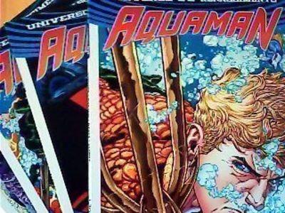 Livro Aquaman Nº1 A 4- Universo Dc Renascimento Vários