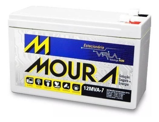 Bateria Selada Gel Moura 7ah 12v Brinquedo Nobreak Lanterna
