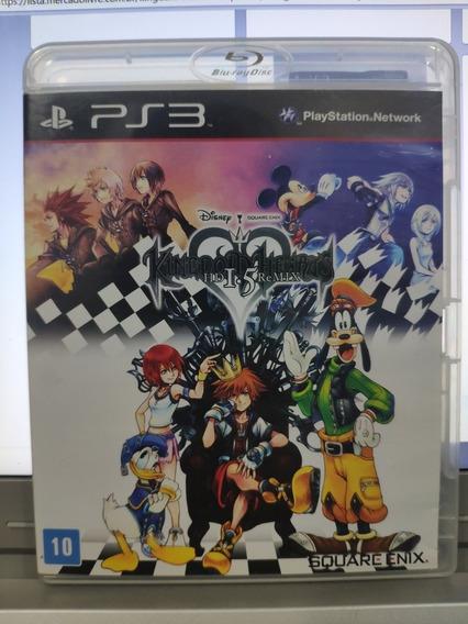 Jogo Kingdom Hearts 1.5: Hd Remix, Playstation 3, Usado