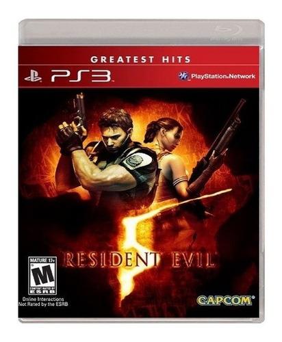 Imagen 1 de 6 de Resident Evil 5 Ps3 Playstation 3 Nuevo Y Sellado Juego