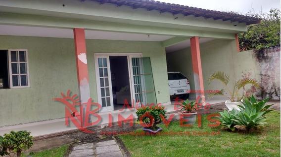 Linda Casa Com Piscina, Rua Calçada Em Aquarius, Unamar, Cabo Frio - Vcap 121 - 33138277