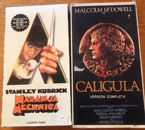 Vhs Caligula , La Naranja Mecanica