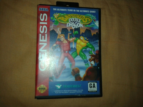 Battletoads & Double Dragon - Mega Drive Original