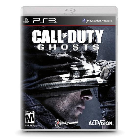 Call Of Duty: Ghosts - Novo Original Playstation Ps3