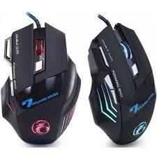 Mouse Gamer Bmax X7 Usb Led Óptico 2400 7 Botões Jogo