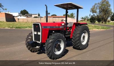 Trator Massey Ferguson 265 1998