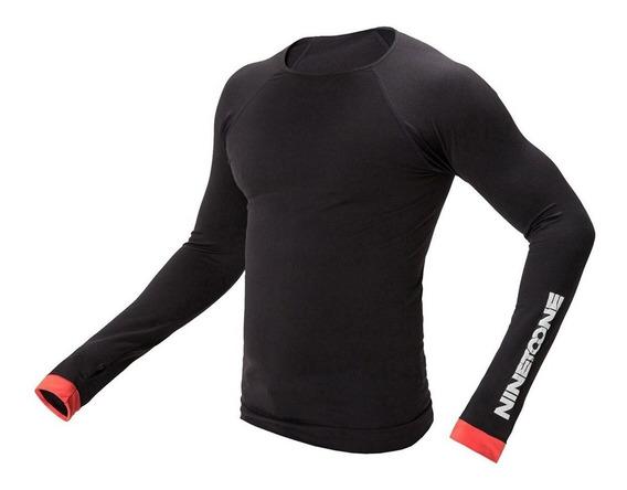 Remera Camiseta Termica Microfibra Moto Frio Nto Rival