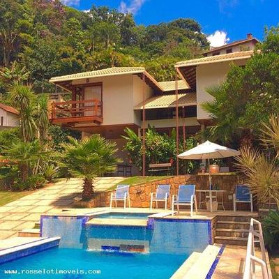 Casa Em Condomínio Para Venda Em Teresópolis, Comary, 4 Suítes, 5 Banheiros, 2 Vagas - Cc494