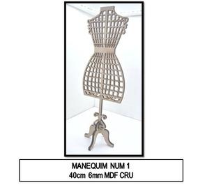 deaeff86b Miniatura De Manequim - Decoração no Mercado Livre Brasil