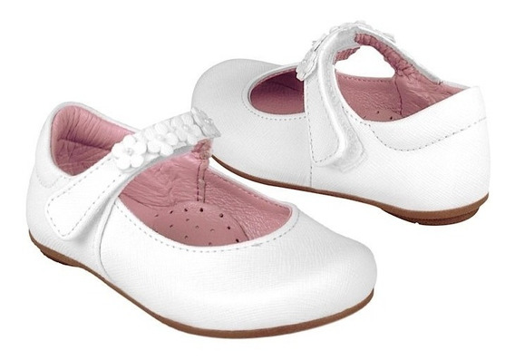 Zapatos Casuales Stylo 31702 Simipiel Blanco 12-14