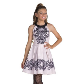 Vestido Infantil Super Luxo Bordado Princesa Diforini Menina
