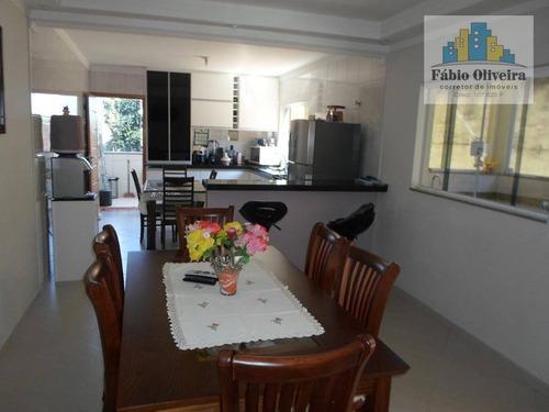 Casa Com 4 Dormitórios À Venda, 234 M² Por R$ 680.000 - Vila Suíça - Santo André/sp - Ca0233