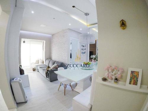 Apartamento À Venda, 61 M² Por R$ 410.000,00 - Vila Augusta - Guarulhos/sp - Ap17030