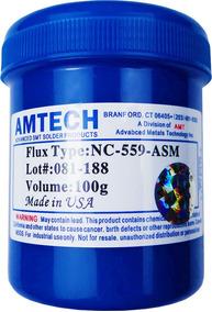 Fluxo De Solda Pastoso Amtech Nc-559 100g Bga Reballing