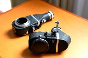 Visor / Tubos De Extensão Visoflex Leica 2 Unidades