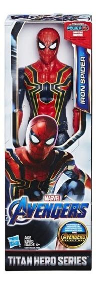 Boneco Avengers 30cm Filme Far For Home Iron Spider Hasbro