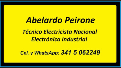 Técnico Electricista Y Electronico