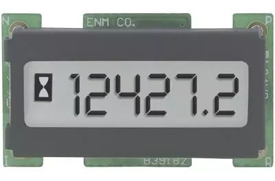Horímetro 6 Dígitos Digital Visor Lcd Enmco T1101ab