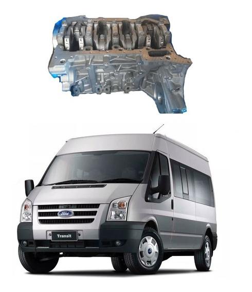 Bloco Motor Completo Transit 2.4 2008 2009 2010 Ford Orig