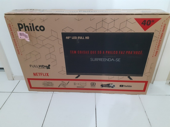 Smart Tv Led 40 Philco Ptv40e21dswn Full Hd 2 Hdmi 2 Usb