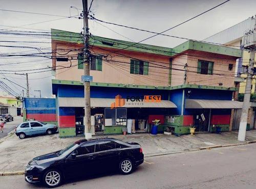 Imagem 1 de 12 de Salão Para Alugar, 260 M² Por R$ 12.000,00/mês - Tatuapé - São Paulo/sp - Sl0005