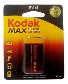 Bateria Kodak Max Alcalina 9volt Com 1