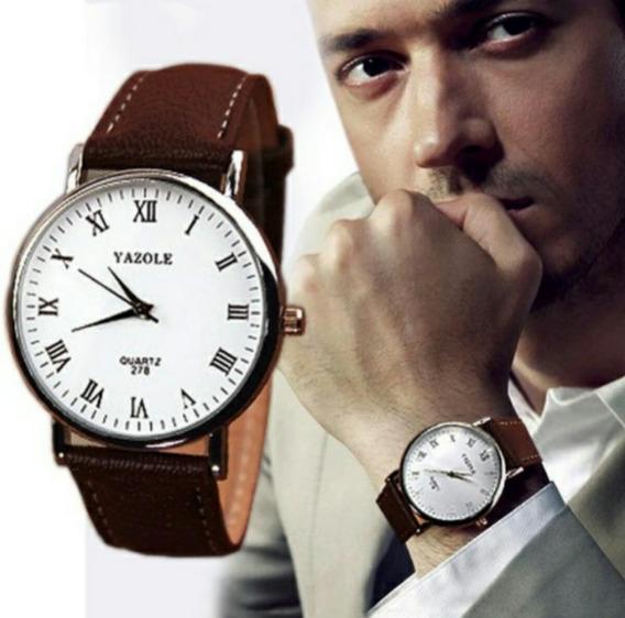 Relógio Masculino Analógico De Luxo!