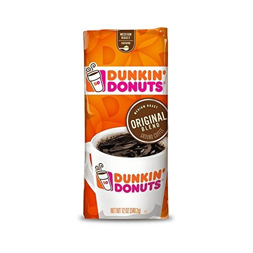 Dunkin Donuts Original Blend Ground Coffee Medium Roast 12 O