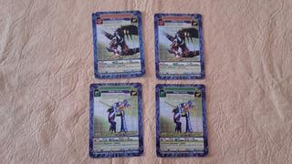 Cartas Digimon Combate Level 2001