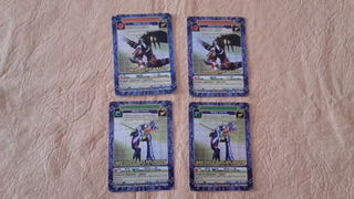 Lote Cartas Digimon Combate Level 2001