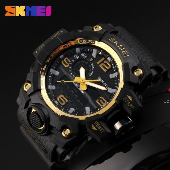 Relógio Masculino Skmei 1155 Analógico E Digital Homens