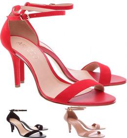 d1cf83c70a Arezzo Sapato Em Couro Vermelho - Sapatos no Mercado Livre Brasil
