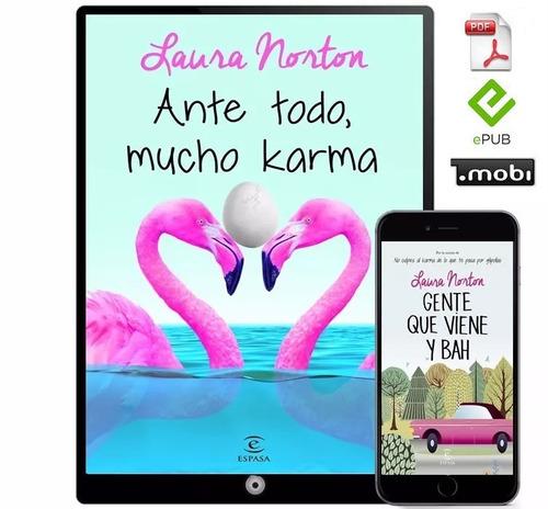 No Culpes Al Karma Laura Norton 3 Libros Multi Mercado Libre