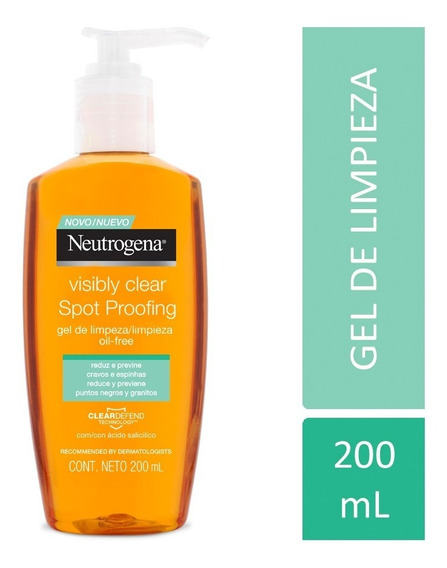 Gel De Limpieza Neutrogena Visibly Clear Spot Proofing