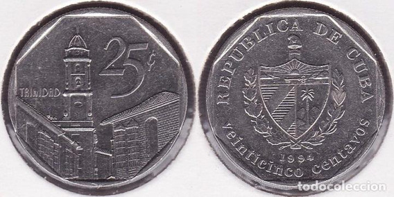 Trinidad 25 Centados Cuba 2003